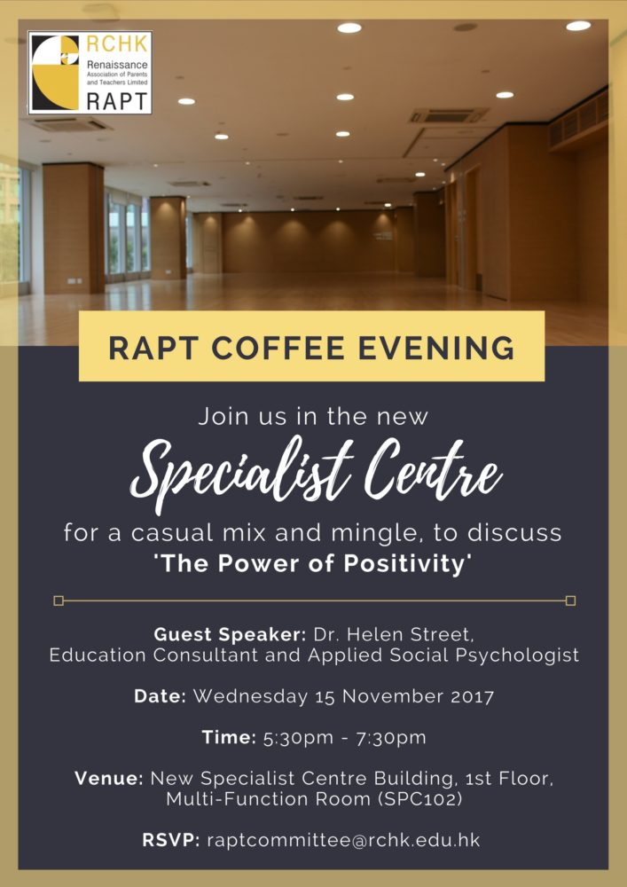 Coffee Evening for Positive Education